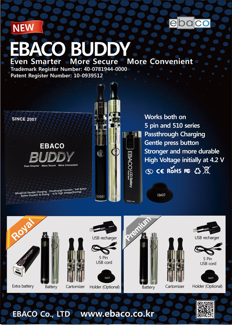 Buddy 650 Black1 + Sillver1 Set