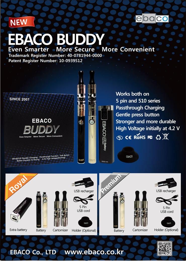 Buddy 900 Black1 + Sillver1 Set